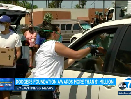 Dodgers Foundation awards more than $1M in grants