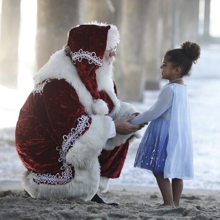 georgina kids and santa1
